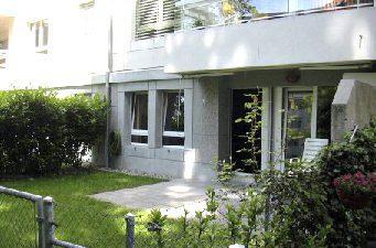 Appartement de 4 pièces avec jardin au Petit-Saconnex