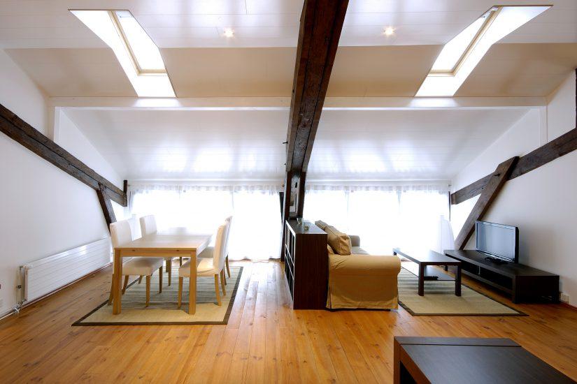 Splendide appartement meublé rénové de 110m2 au Petit-Saconnex
