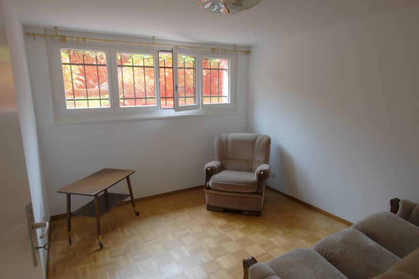 Appartement meublé au rez inférieur de la villa à Chambésy