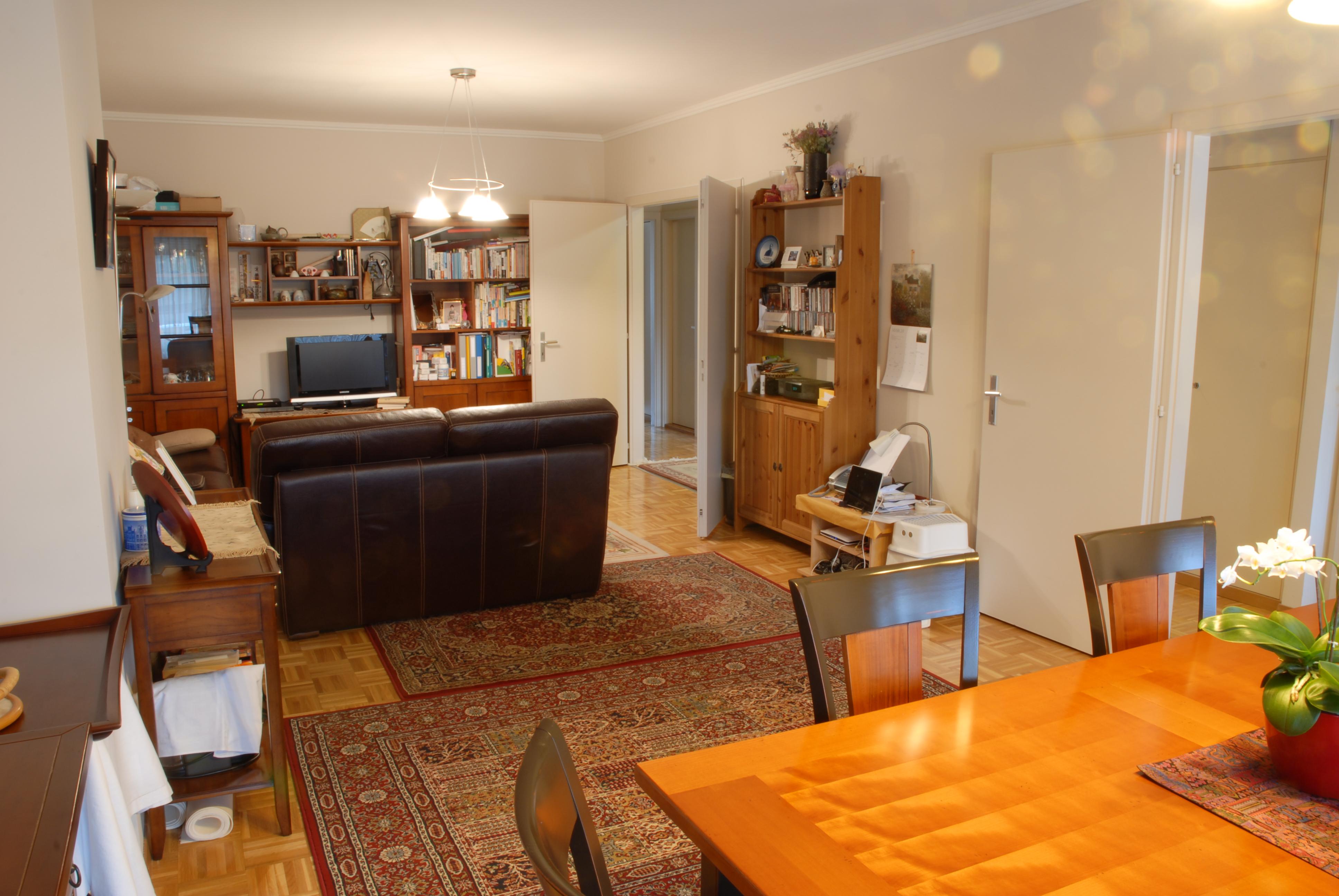 4.5 Rooms Furnished Apartment In Petit Saconnex