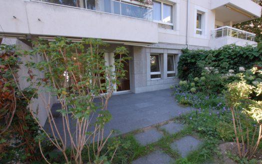 Bel appartement de 3 pièces en rez-de-jardin au Petit-Saconnex