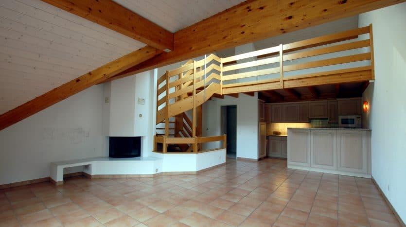 Triplex de 115m2 de 4 pièces + mezzanine à Crans-Près-Céligny