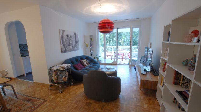 Bel appartement de 5 pièces de 125m2 au Grand-Saconnex