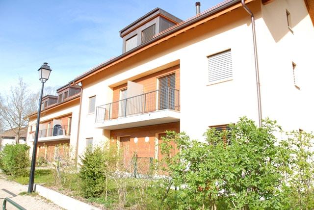 Appartement de 5 pièces en duplex avec jardin à Chancy