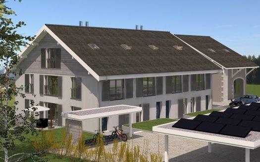 Projet de 4 villas sur plans à Bernex